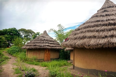 """Live the """"real African life"""" in a rammed earth hut"""
