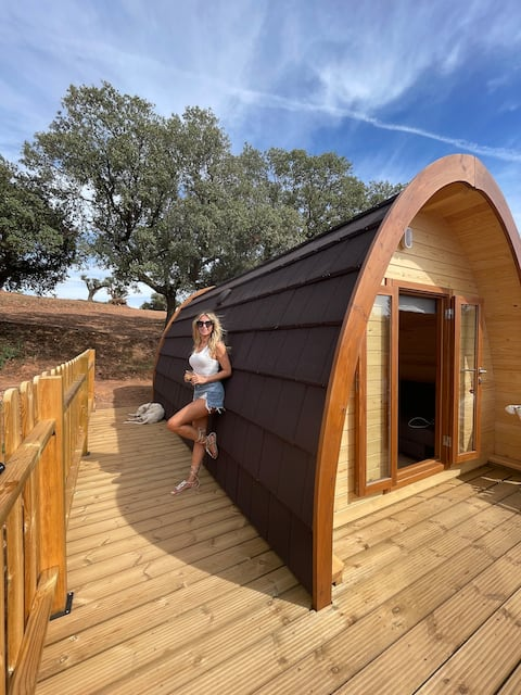 Pod House 1+Infinity Pool :: Montes de Toledo
