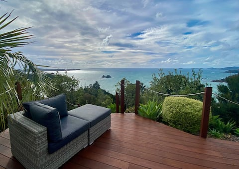 The Retreat Lux Villa - 1 bedroom @ Te Ngaere Bay