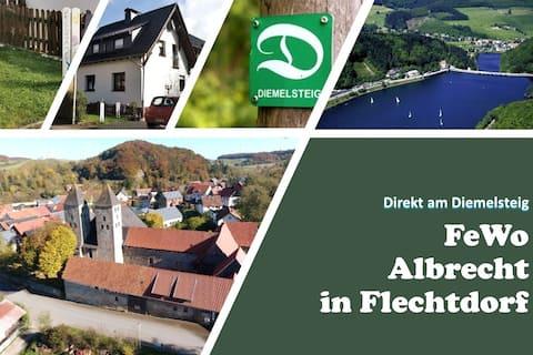 FeWo Albrecht direkt am Diemelsteig