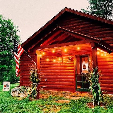 Footbridge Cabin awaits you!
