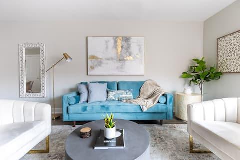 ✨Chic|Luxurious|2BR|Trendy|Evanston Next To Beach✨