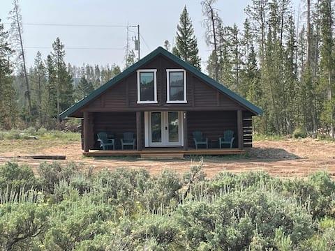 Rosemary's Cabin in Ryan Park Wyoming