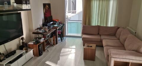 Şehir merkezine 500 mt sakin nezih bir  dairesi