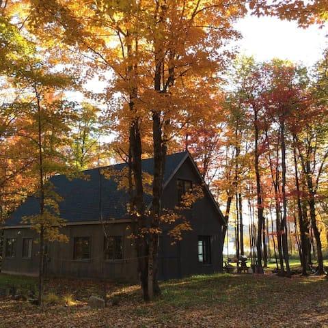 Beaver Camp on the lake