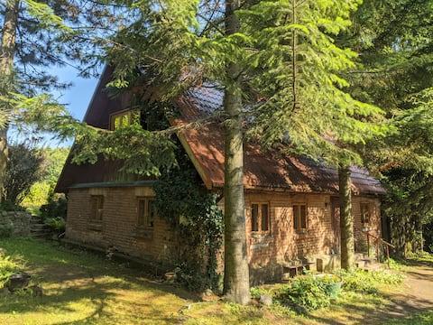 Warmiński dom nad jeziorem