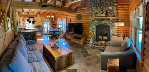 3 bdr 2 bath cabin, 15 mins from Lake Huron
