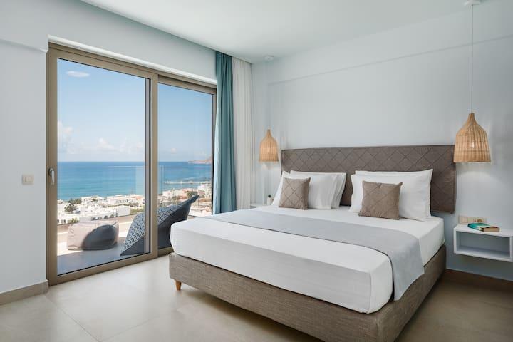 Stimulating bedroom design.
