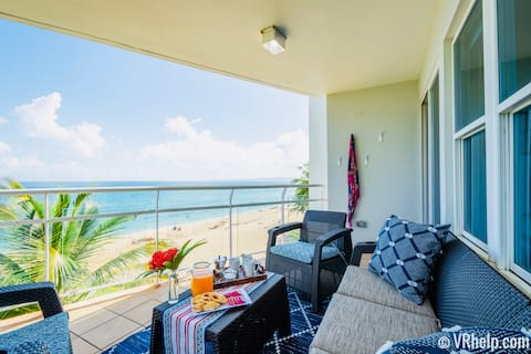 Beachfront★Pool★All New★AC★Free Prkng/Laundry/WiFi