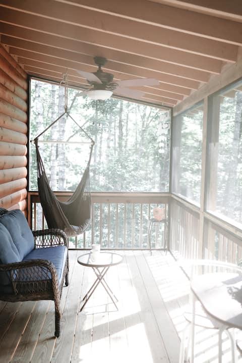 Just Breathe!  @ Fern Forest Cabin