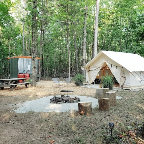 Glamping on Poplar Hill: A ThorneBrook Farms Site