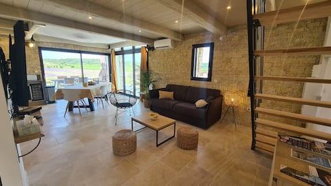 Großzügiges Ferienhaus zwischen Weinreben und Lavendel in der Ardèche
