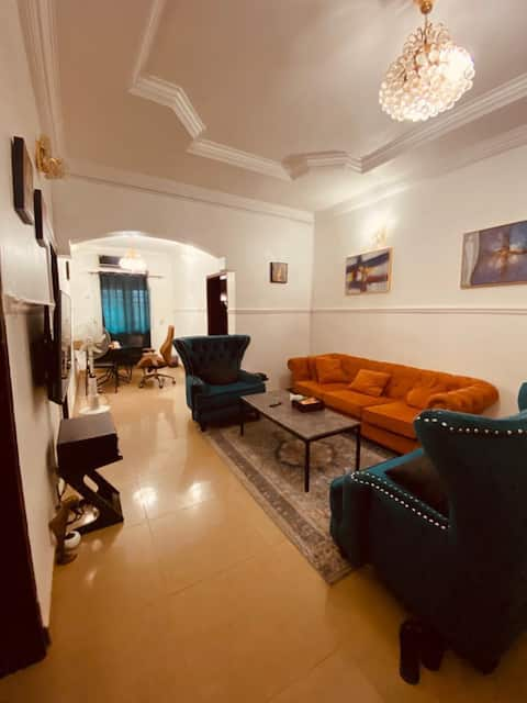 Classy, Modern, and Artsy 1 bedroom in Abuja.
