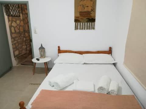 Private cute guest room in Paxos