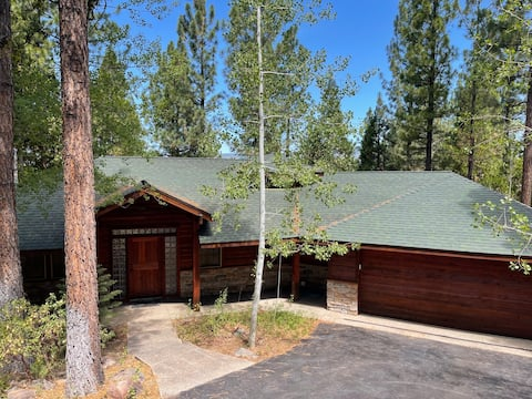 Mountain eclectic cabin in Lost Sierras on 3 acres