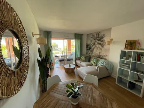 Magnifique appartement dans résidence avec piscine