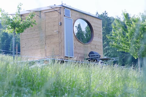 MONDHOLZ TINY HOUSE, in purer Natur
