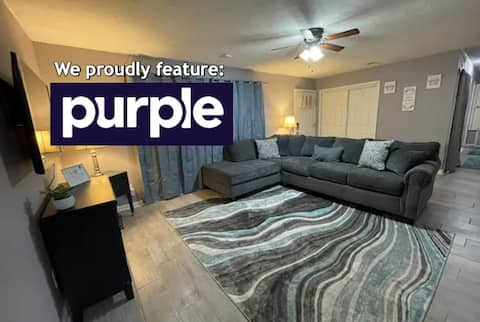 4 BR house w/game room minutes to airport&colleges