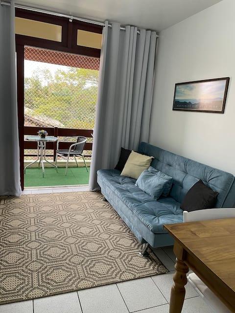 Apartamento a 50m da praia: conforto e praticidade