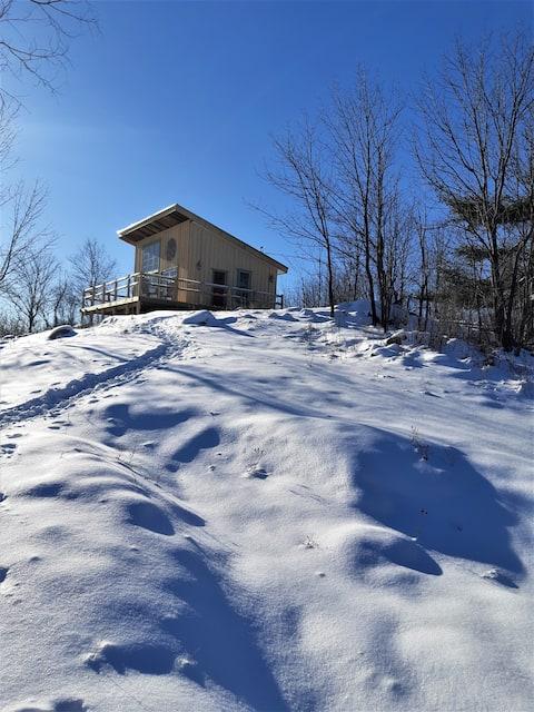Longview: Private Hilltop Chalet on 88 Acres