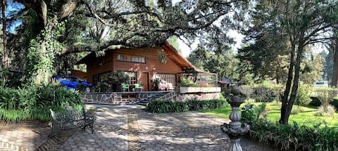 Casa Castor. Cabaña en Presa Brockman