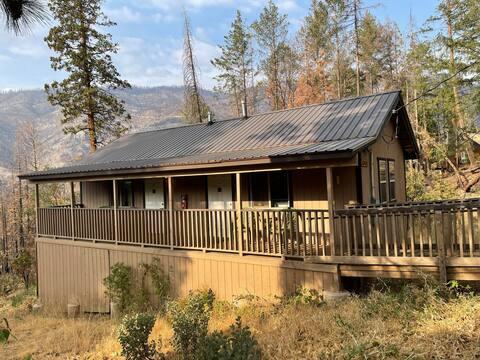 Abednego B cabin at Camp Sierra, near Shaver Lake