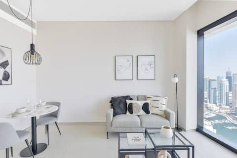 Stylish Brand New 1Bedroom apartment @ Address JBR