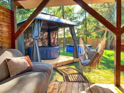 DOM.LAS 3-Naturaleza, Relax, Jacuzzi, Jeziorsko