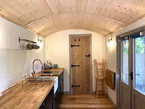 Cabaña de lujo (climatizada) Cotswold Shepherd