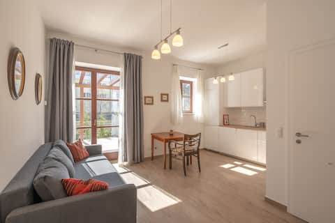 Villa Musik:  Apartment with a view in Baden