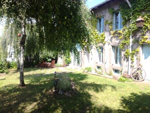 """""""le jardin d'Auguste"""": gîte au coeur des Vosges"""