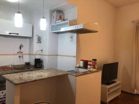 Apartamento aconchegante/ funcional próximo à Lapa