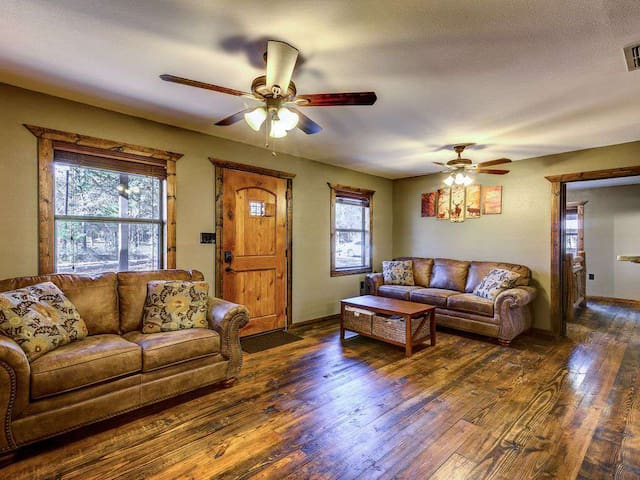 Living area and main entryway.