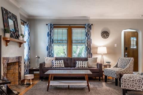 Gifford Park Adorable 3 Bed Duplex -Midtown Omaha