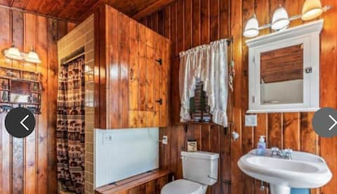 Adorable guest studio with sauna & mountain view.