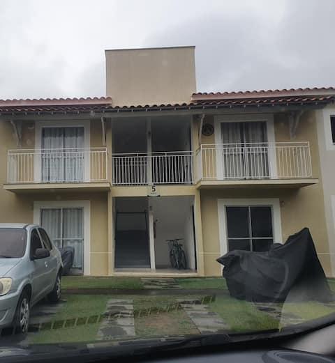 Apartamento com wi fi, ar condicionado, sky,smartv