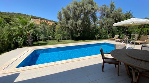 Luxury 3 bedroom villa with private pool