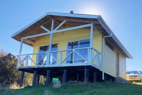 Cabaña acogedora en Isla Puluqui equipada