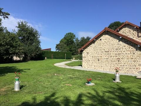 Atelier de mécanique agricole en Auvergne