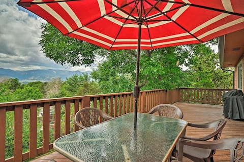 NEW! Lovely CO Springs Home: Mtn Views, BBQ & Deck