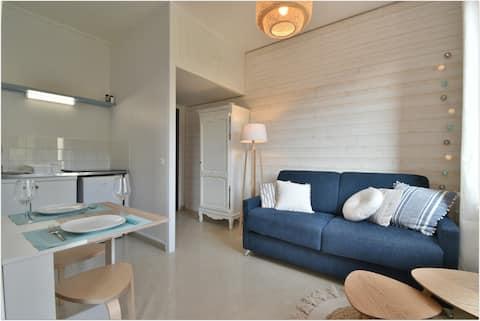 L'Estran- Appartement en résidence de bord de mer