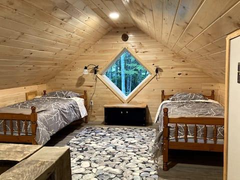 The Deerling      Big Run Respite's new cabin!