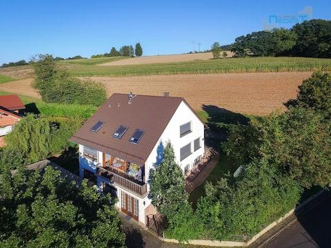 Schöne Wohnung zwischen Vogelsberg und Spessart