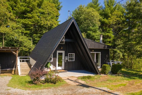 Stone Mountain Haus-Modern A Frame Retreat!
