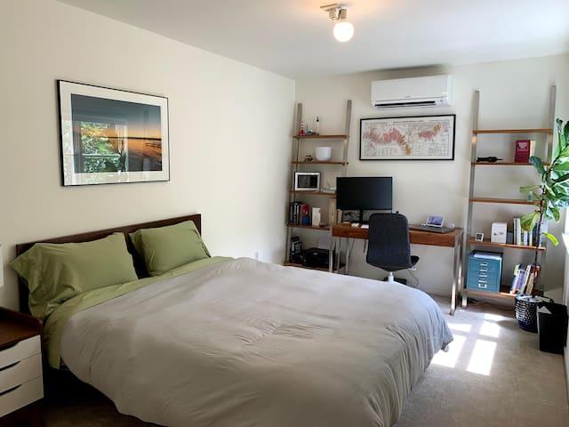 Walnut guest room