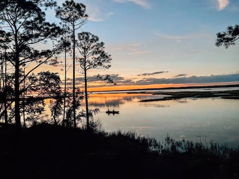 New listing! Waterfront home on Alligator Point