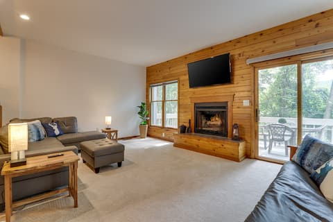 Serene Escape - Jacuzzi, mins from trails/skiing