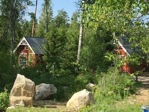 Gemütliche kleine Blockhütte, Haus Eiche