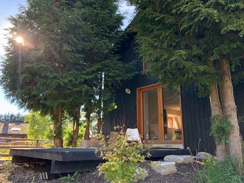 Maison d'architecte, 3 étages, vue Mt-Blanc