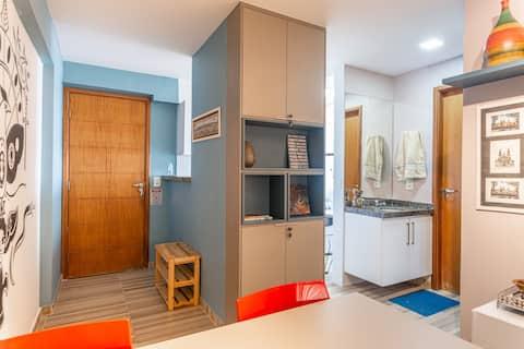 Jaqueira Premium Flat :: Wi-Fi Garage Cozy